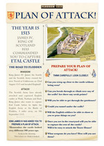 Etal Castle Attackers Plan of Attack worksheet