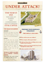 Etal Castle Defenders Defence Strategy worksheet