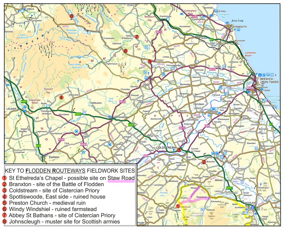 21 Image 1 Flodden Routeways Fieldwork Sites