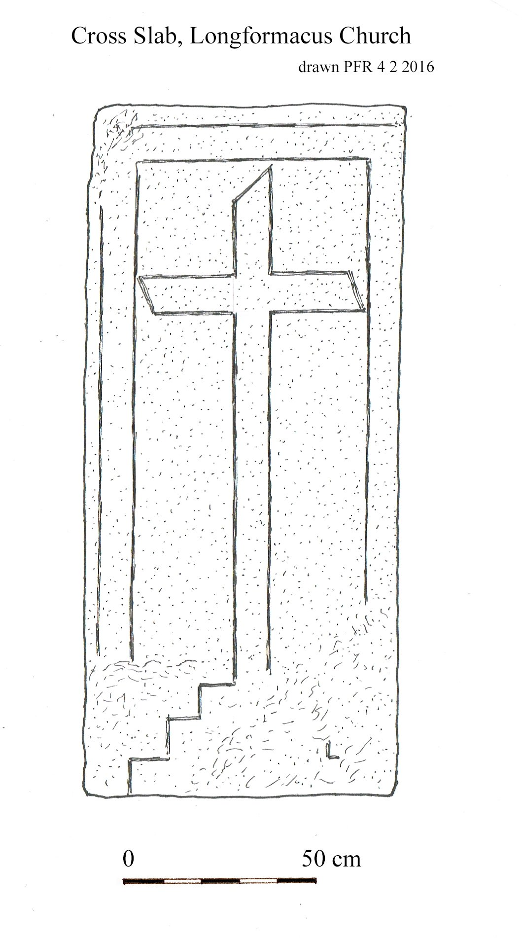 22 Image 2 Longformacus grave slabs with cross of pain motif