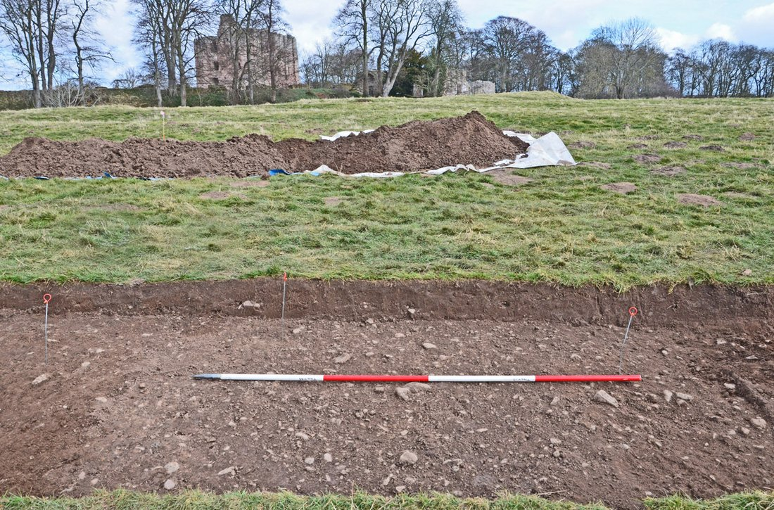 25 Image 7 Trench 1 excavated in April 2013