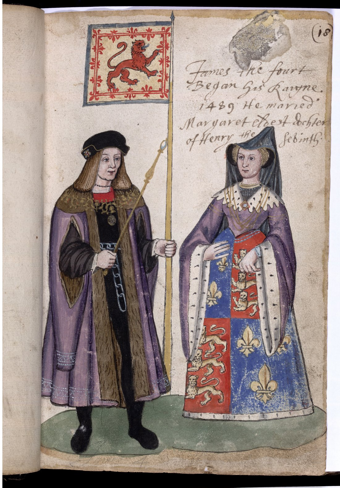 4 Image 2 James IV and Queen Margaret