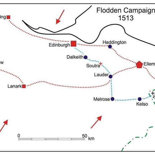 20. Scottish Ways To War 1513, The Mobilisation for the Flodden Campaign