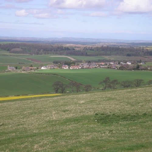 34. The Landscape of Branxton-Crookham c. 1513
