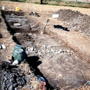 38. Excavations on the Battlefield