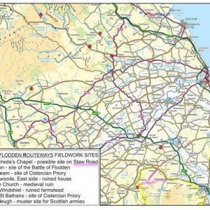 21. Further Research on the Routeways Taken by the Army of James IV in August and September 1513